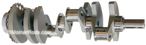 molnar SBC crankshaft